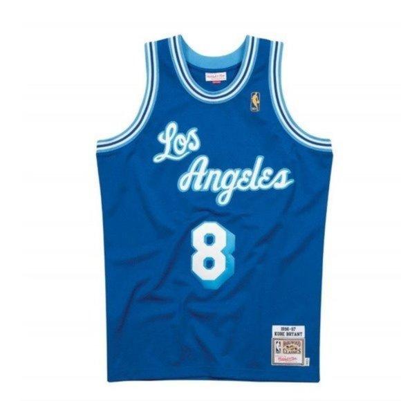 NBA Shirts   Mitchell Ness La Lakers